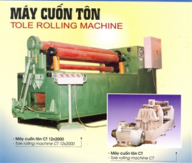Tole rolling machine